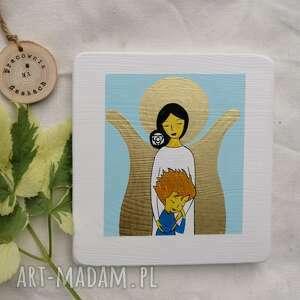 dla dziecka anioł stróż chłopca komunia święta, stróż