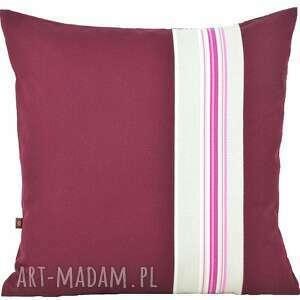 poduszka dekoracyjna 45x45cm - kolor ciemny bordo 2, poduszka, bawełna, prezent