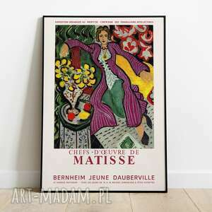 Henri matisse, plakat wystawowy 50x70 plakaty pas de lart