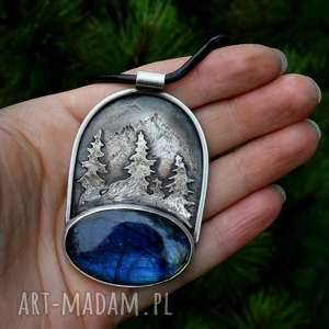 naszyjnik z miłości do gór, góry, srebro, tatromanik, las, miłośnik gór