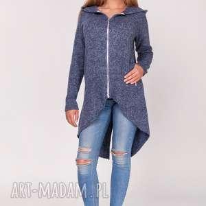 kardigan,płaszczyk z kapturem - wdzianko, narzutka, sweter, kaptur, kardigan