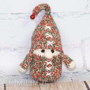 Prezent Świąteczny skrzat, krasnal, prezent, maskotka, skrzcik, śwęta