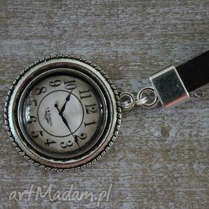 Prezent Brelok skóra zegarek, długi, skórzany, skóra, zegar, prezent