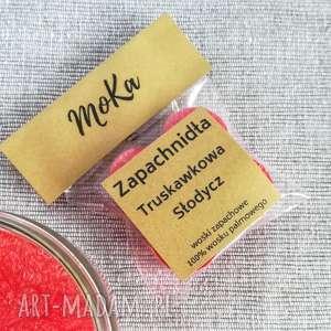 zapachnidła - woski zapachowe truskawkowa słodycz, wosk, truskawki, wosk