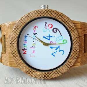 hand-made zegarki drewniany zegarek chaos eagle owl