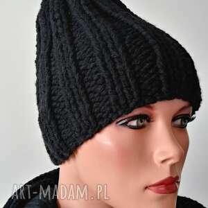 ręcznie robione czapki hand made czapka uniseks
