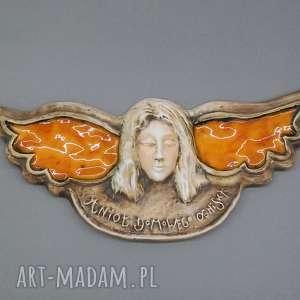 prezent na święta, anioł stróż, anioł, dekoracja, prezent, ceramika, unikatowy