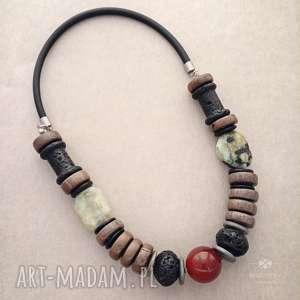 amali, korale, stal, drewno, kamienie, kauczuk, etno, świąteczny prezent
