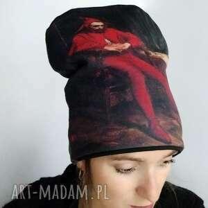 Czapka stańczyk czapki katarzyna staryk nadruk, stańczyk