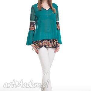 Tunika Rima- zielona, moda