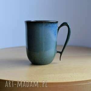 kubek ceramiczny indygo 300 ml, kubek, ceramika, ceramiczny, do kawy, niebieska