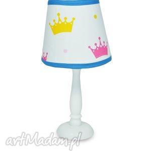 lampka dla księżniczki - lampka, nocna, stojąca, korony, popielewska, style