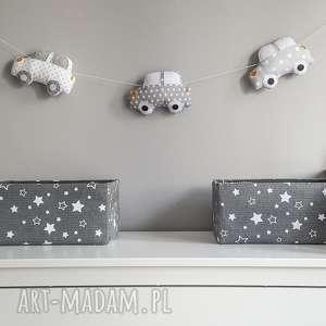 girlanda autka - dekoracje, zawieszka, autka, ściana, chłopiec