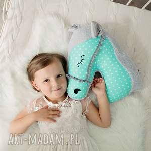 Prezent Przytulanka dziecięca koń, poduszka-koń, przytulanka-minky, pokój-dziecka