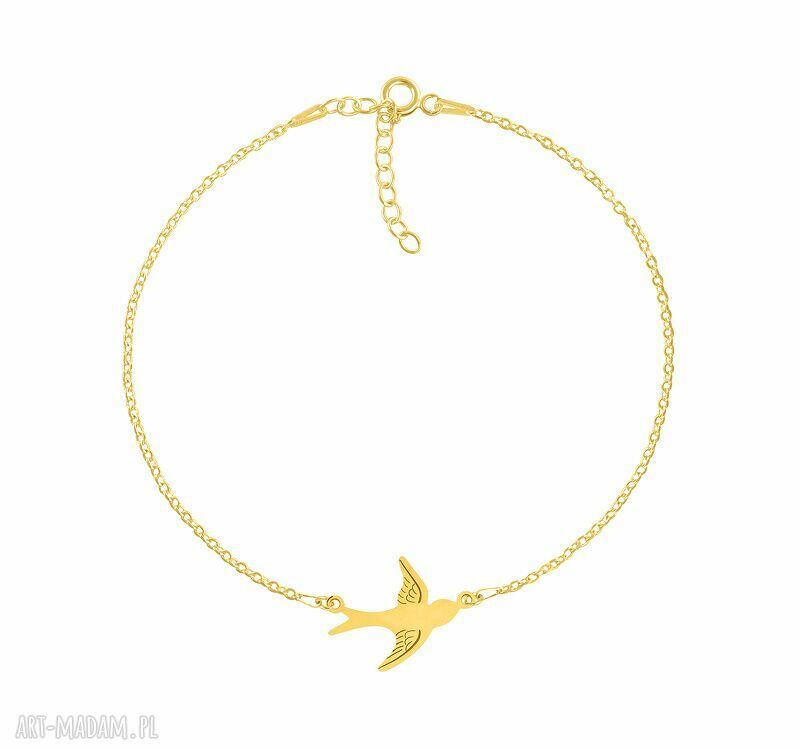 hand-made bransoletki celebrate - swallow connector - bracelet g