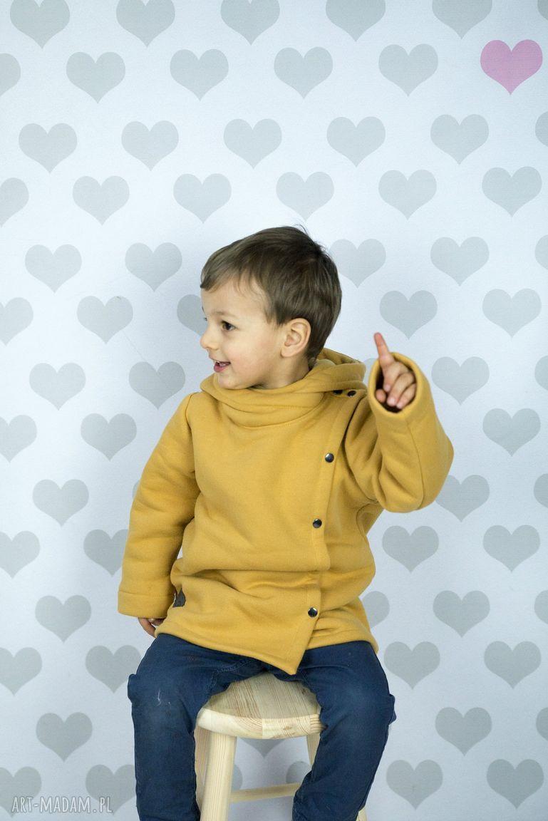 ubranka płaszczyk musztardowy large size
