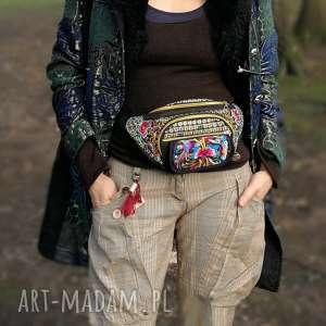 haftowana nerka torba na pas orient styl boho, nerka, torebka, podróż