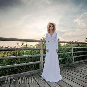 ślub magdalena maxi hypnotic white