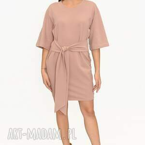 sukienki sukienka bogini róż, sukienka, spódnica, komplet zimowy, bluza, płaszcz