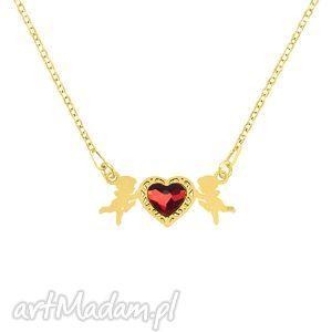 hand made naszyjniki celebrate - cupid with heart - necklace g