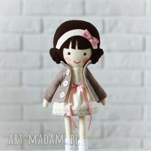 handmade lalki malowana lala eliza