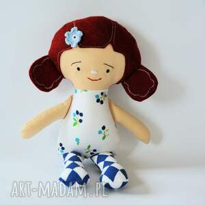 Lala Fruzia - Jagoda 25 cm, lalka, jagoda, roczek, chrzciny, dziewczynka, radosna