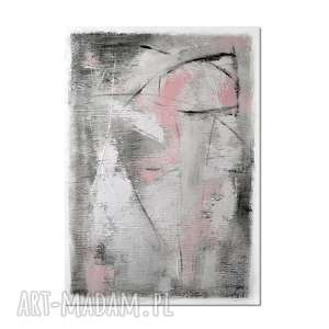 grot 4, abstrakcja, nowoczesny obraz ręcznie malowany, obraz