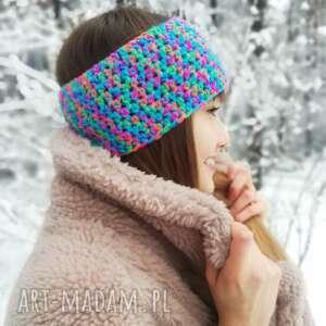 hand made czapki opaska na włosy, headband, turban