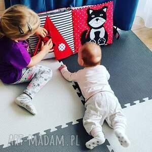 timosimo - książeczka sensoryczna kontrastowa dla niemowlaka, książka