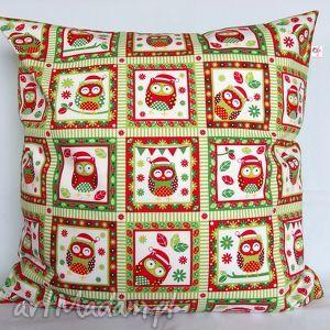Prezent Poduszka w sowy piękna ozdoba prezent !!, poduszka, jasiek, sowy, pokój