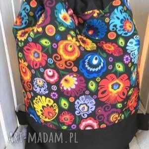 Worek plecak wodoodporny łowicz, worek, plecak, szkoły, przedszkola, spacer,
