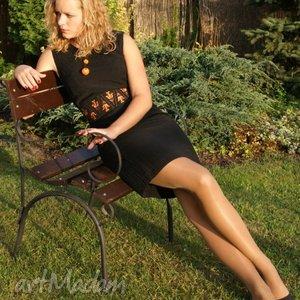 hand-made paski pas damski haftowany inspiracja kaszubska