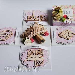 Prezent Exploding box - pamiątka ślubu most, exploding, pudełko, ślub, życzenia