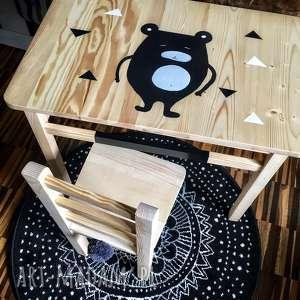 handmade pokoik dziecka stolik i krzesełko - mebelki dla dzieci
