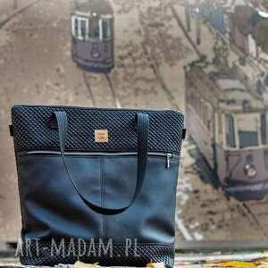 torebka catoo premium #02, pikowana torebka, duża torba, z pikówki