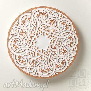 patera galiarda biała, talerz, patera, podstawka, ceramiczna, misterna, ornamentowa