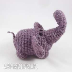 Szczęściarz - fioletowy słonik zabawki wernika słoń, słonik,