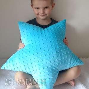 pokoik dziecka poduszka dziecięca gwiazdka minky 4 kolory