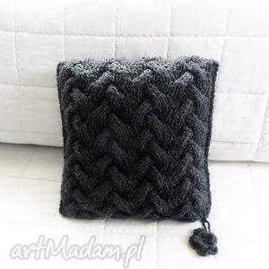 poduszka robiona ręcznie wełna 40x40 cm 1szt, poduszki, poduszka, poszewki, poszewka