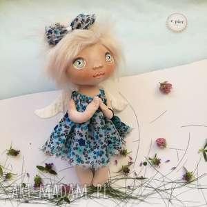 e piet e-piet aniołek - dekoracja ścienna figurka tekstylna ręcznie szyta