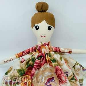 hand-made lalki lalka przytulanka, szmacianka xl, dla dziewczynki, 45 cm, szmaciana