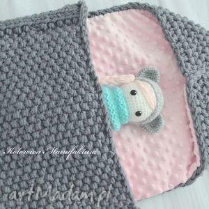 Śpiworek do wózka elena cieplutki handmade - śpiworek, dla-dziecka, cieły