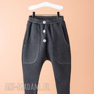 spodnie chsp08g, spodnie, wygodne, stylowe, guziki, święta prezenty