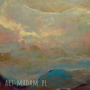 obrazy obraz na płótnie - abstrakcja 40/30 cm, abstrakcja, brąz, obraz, szary, beżowy