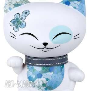 Prezent figurka mani lucky cat blossom 11cm, manilacky, kimmidoll, prezent,