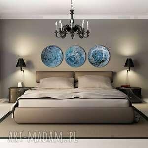 tryptyk geograficzny 25, planety, księżyc, alexandra13art, semeniuk, tondo