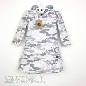 ręczne wykonanie ubranka sukieneczka moro pink