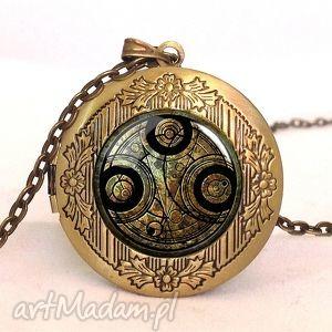 time lord seal - sekretnik z łańcuszkiem - naszyjnik, fantasy