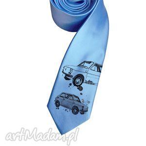 święta prezent, krawat maluch, krawat, nadruk