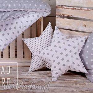 poduszka gwiazda szara - poduszka, poduszki, gwiazda, gwiazdka, gwiazdy